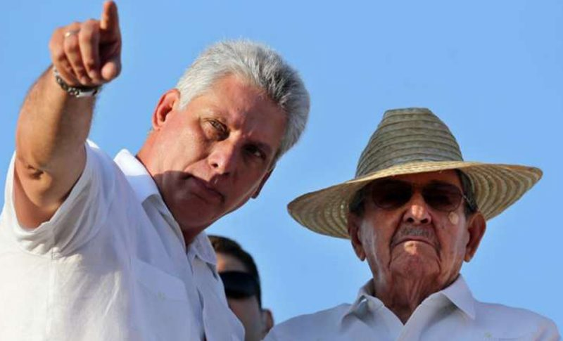 Cuba Diaz Canel Raul Castro